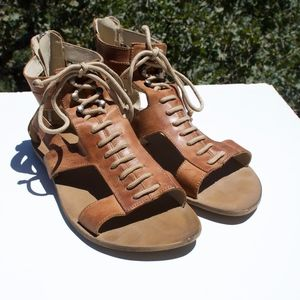 Boutique 9 Btbelou Victoire Lace Gladiator Sandals
